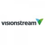 Visionstream logo long
